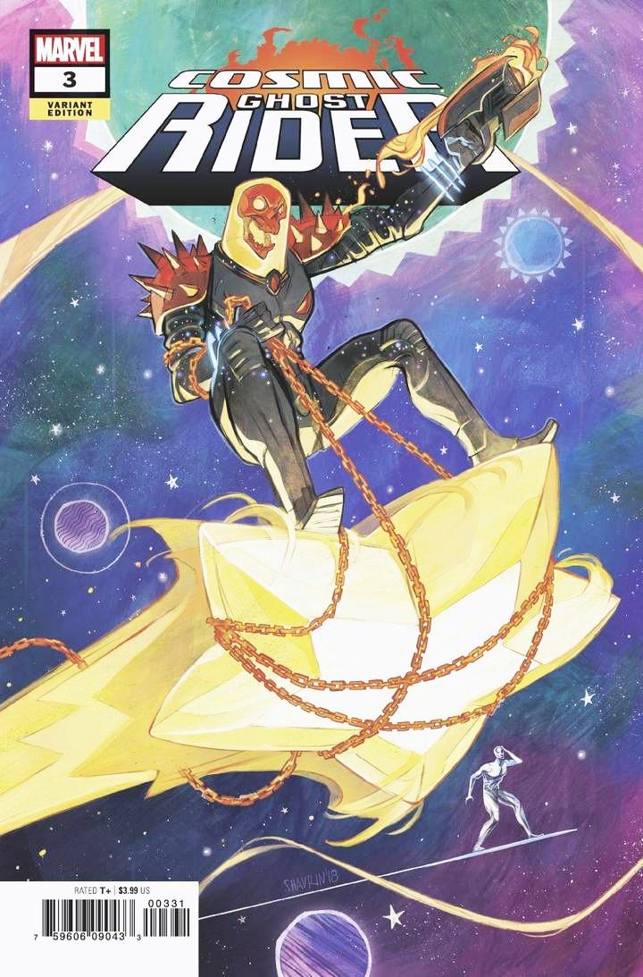 Artstation Cosmic Ghost Rider Shavrin Marvel Ivan Shavrin