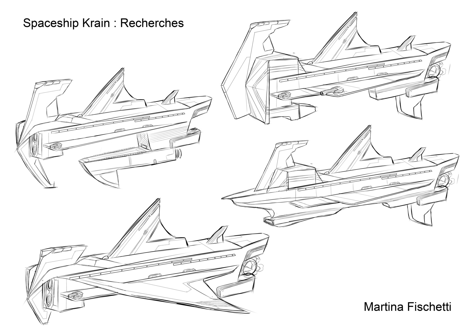Martina fischetti spaceship krain recherches