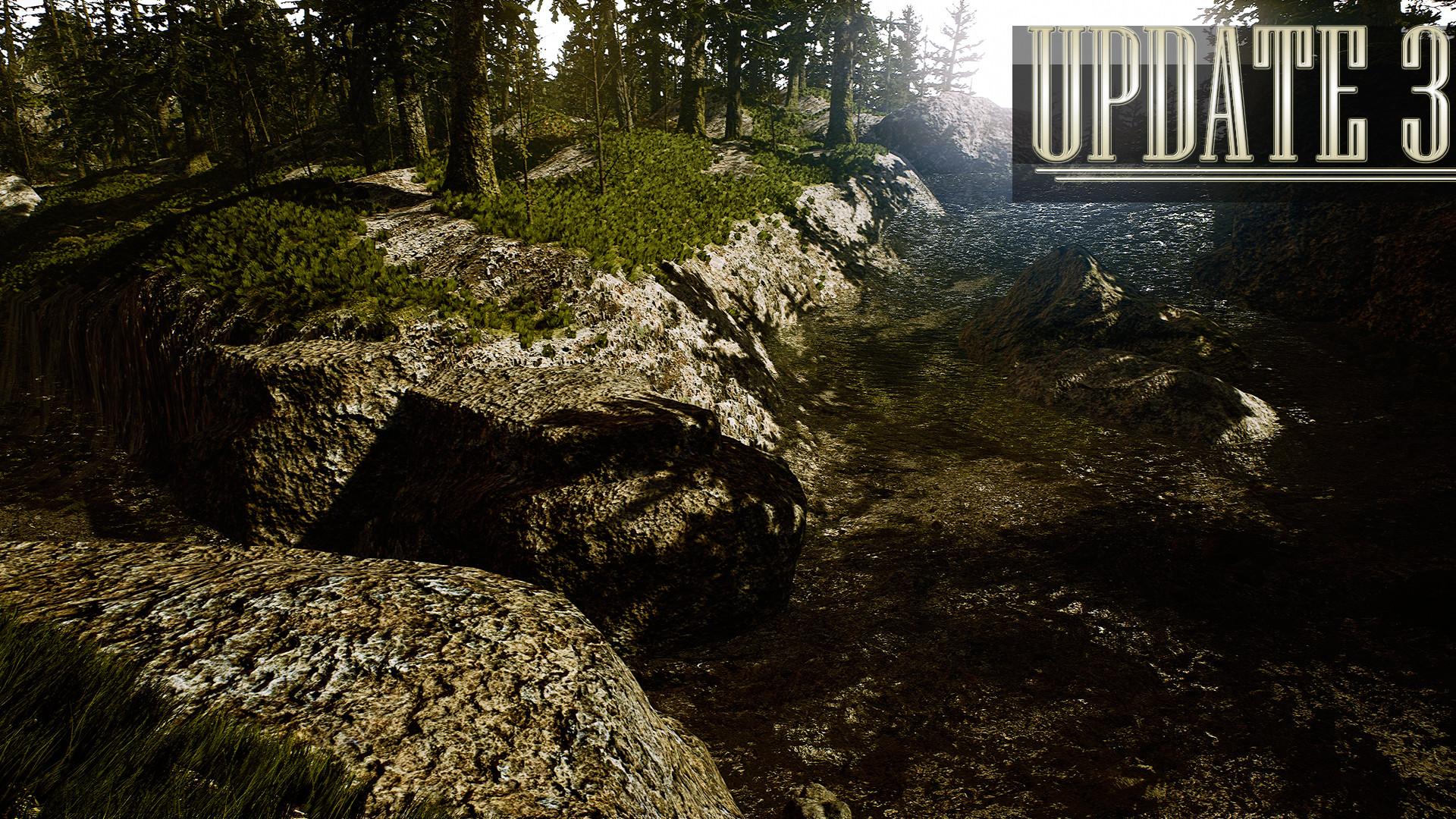 ArtStation - Peaceful Valley River | Version 3 0 , Vincent