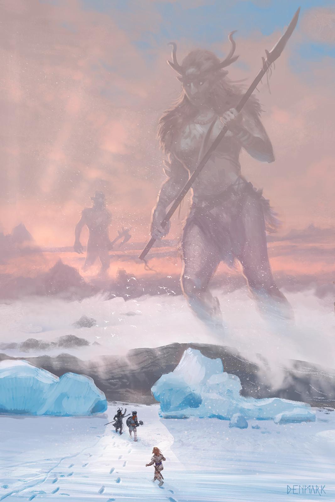 Thor and Loki in Jotunheim