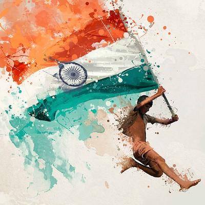 Mayank kumar independence day 18 splash art