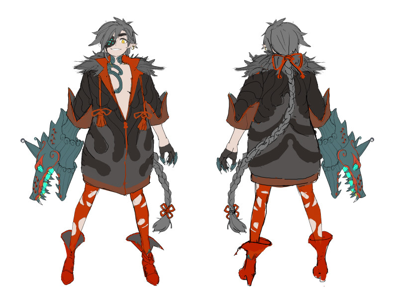 first character concept