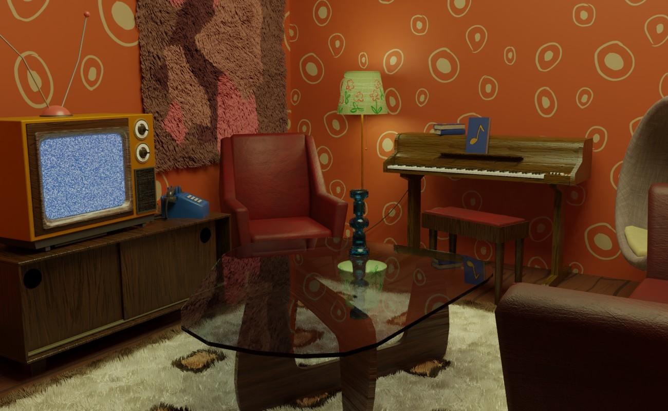 Artstation 70 S Living Room Eemil Tikka