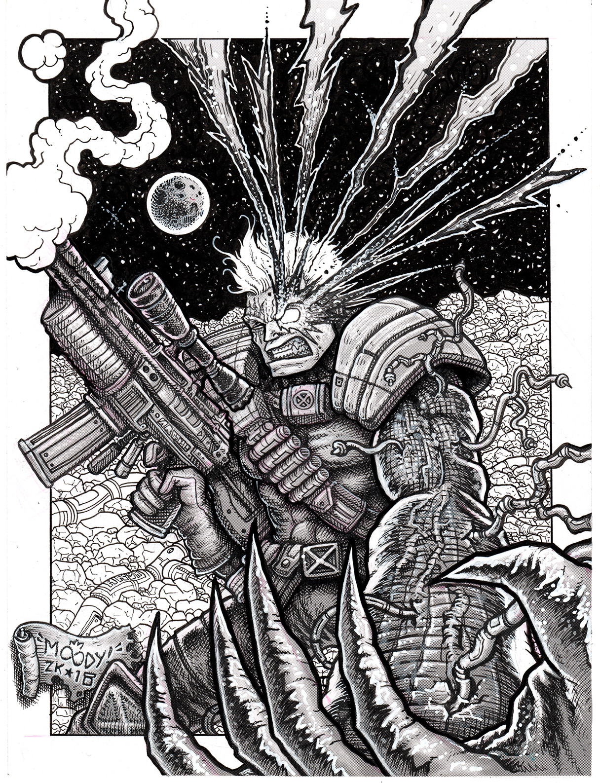 Buster moody cable commission scanmed