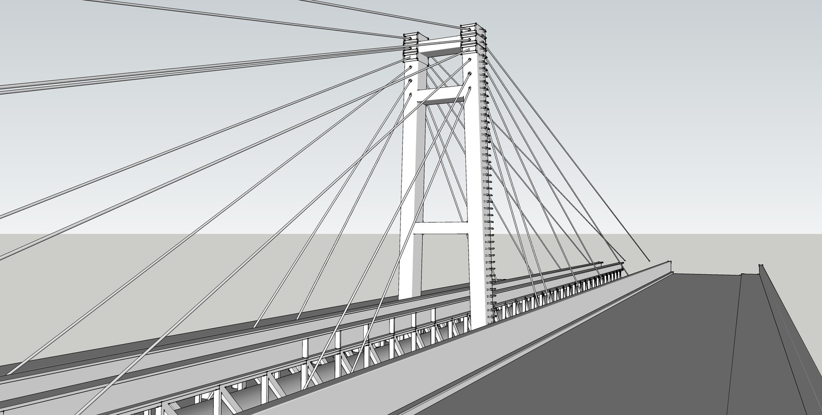 Raw model in Sketchup