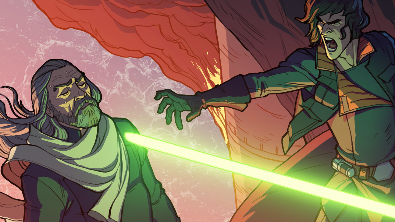 Matt rhodes altstarwars closeup
