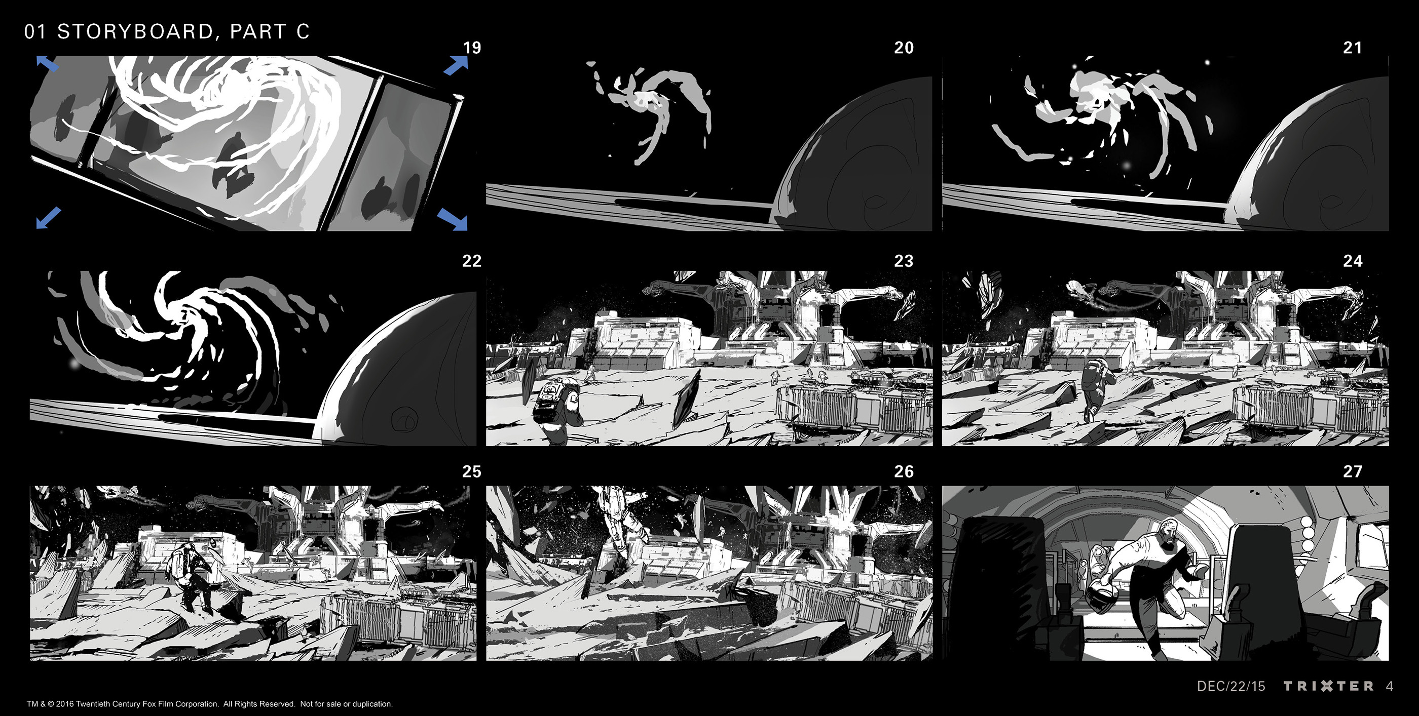 Sequence storyboard: Part 3 of 5