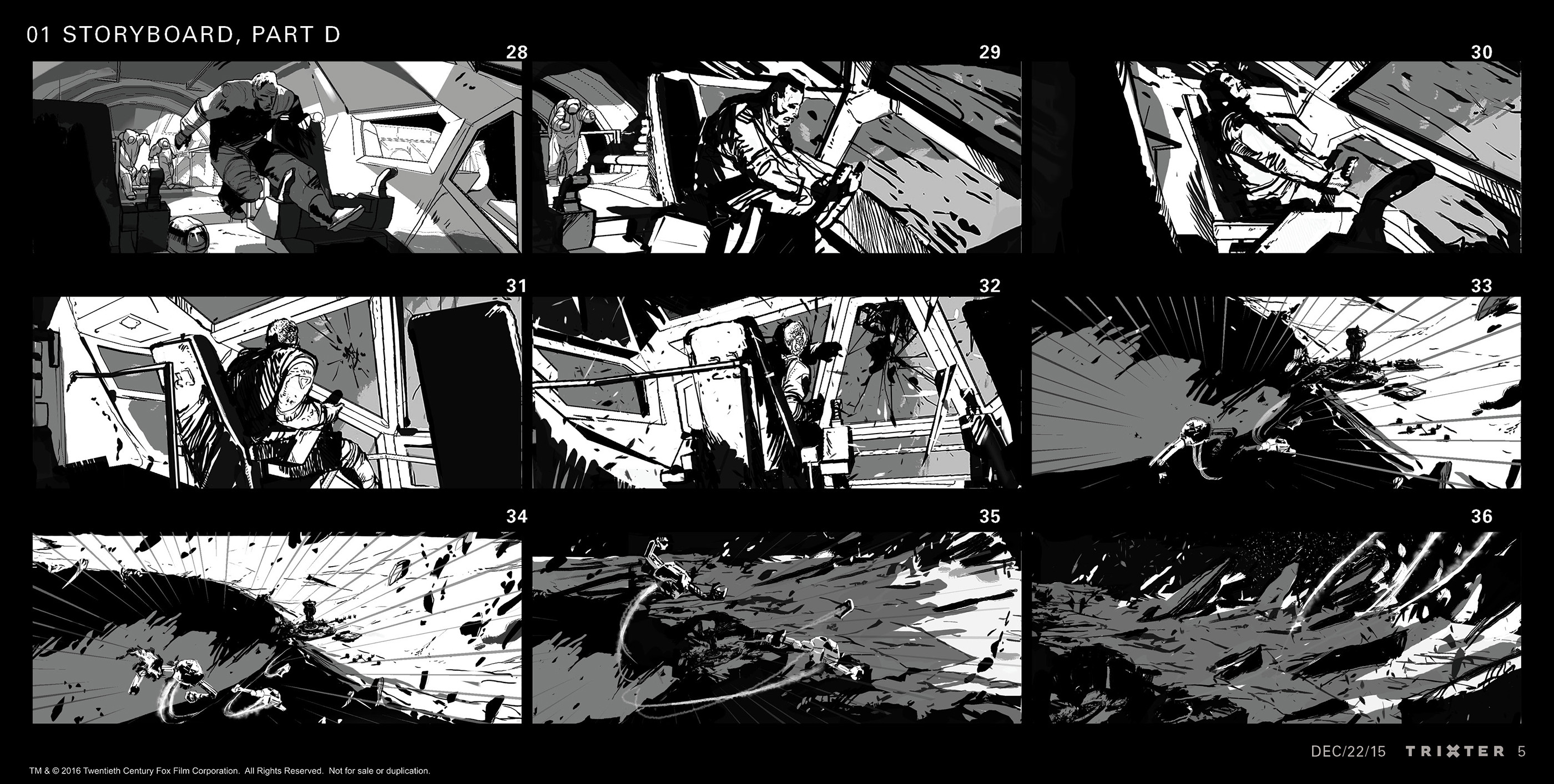 Sequence storyboard: Part 4 of 5