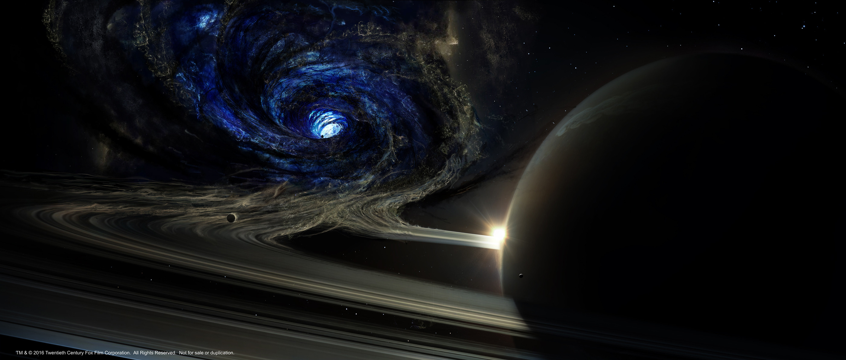 Wormhole, phase 1 Collaboration with concept artist Luis Guggenberger.