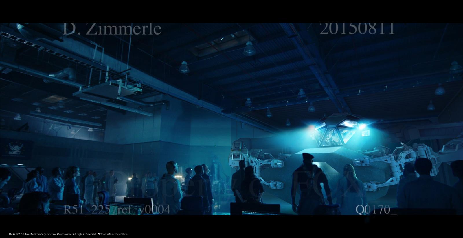 Area 51 hangar set estension.  Part 4 of 4