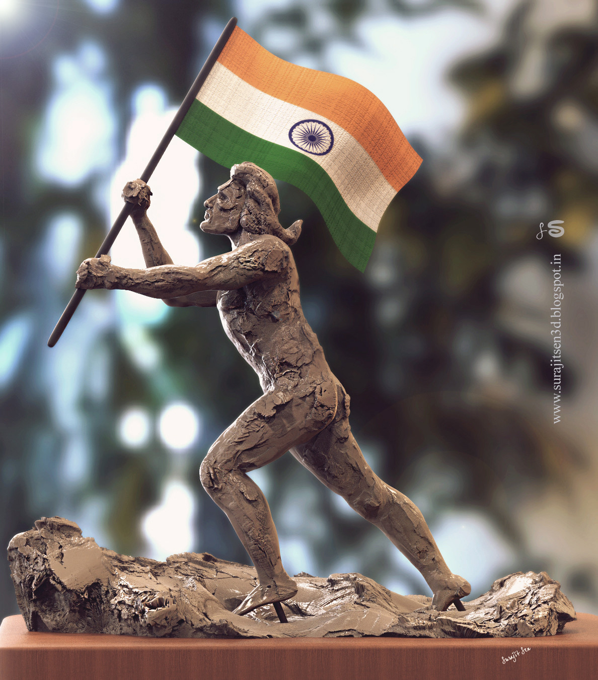 """Freedom""...my speed sculpt for celebrating our Independence Day. 