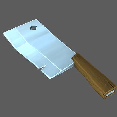 Daniel eady painted knife