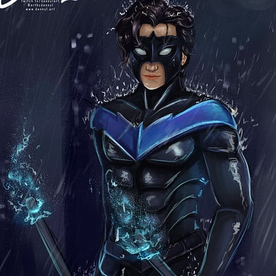 Danni mcgowan nightwing web