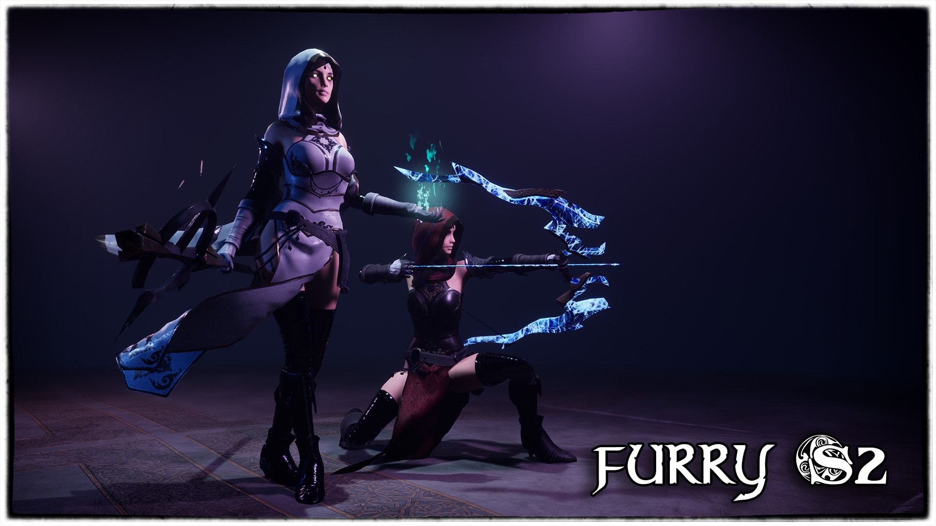 ArtStation - Furry S2 : Sorceres and Archer, Quang Phan
