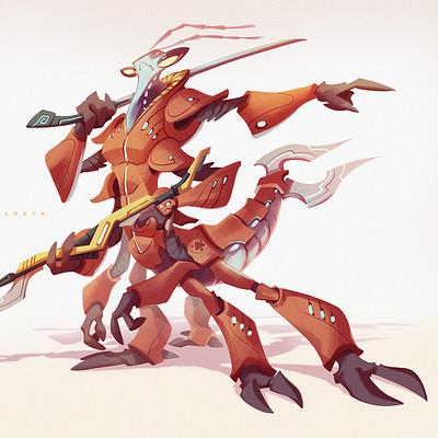 Valerio dreelrayk buonfantino insect warrior 04