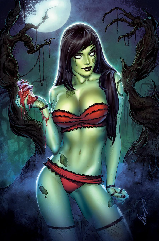 Dan Mendoza's Zombie Tramp, issue #50 Regular version Sanctum Sanctorum Comics Exclusive