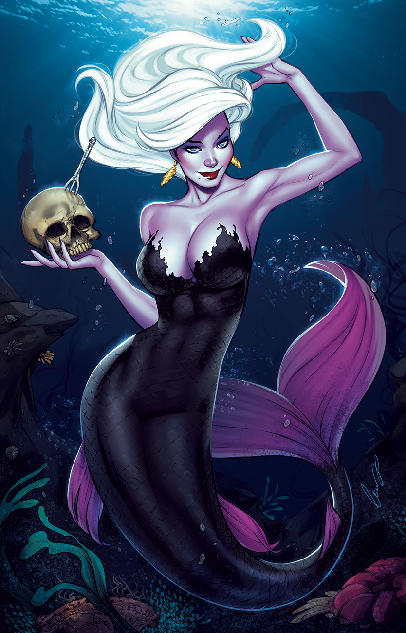 A combination between Ariel+Ursula