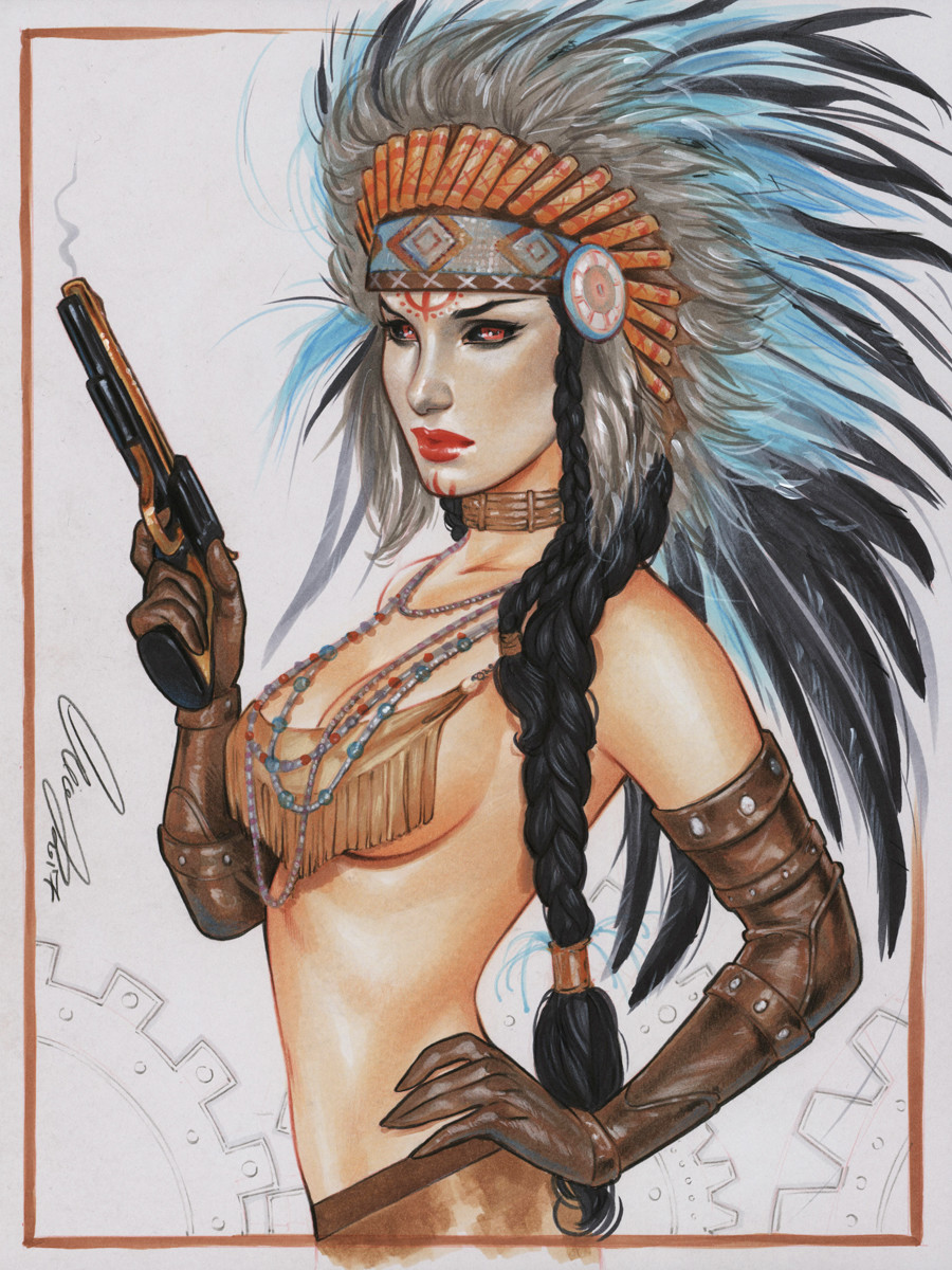 Lady Mechanika Native American