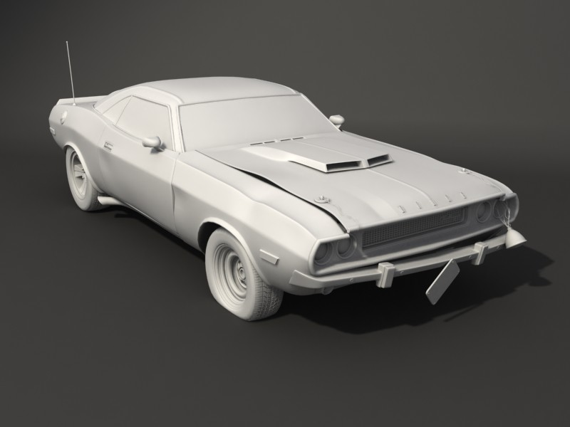 Eddie faria 1970 challenger t a busted wip by akuma1x