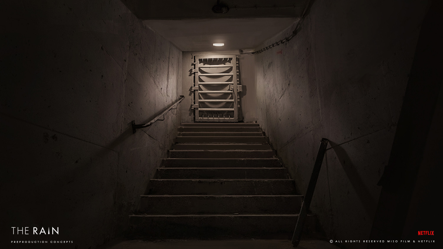 Jan ditlev bunker stairs to exit