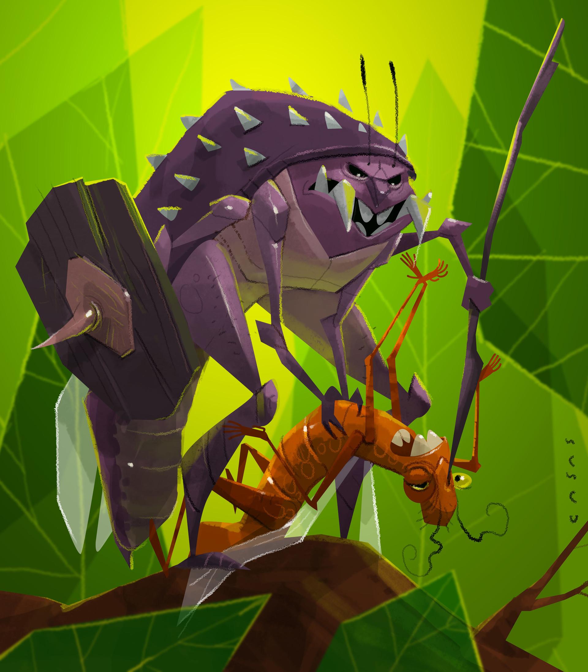 Guillermo casas insecto