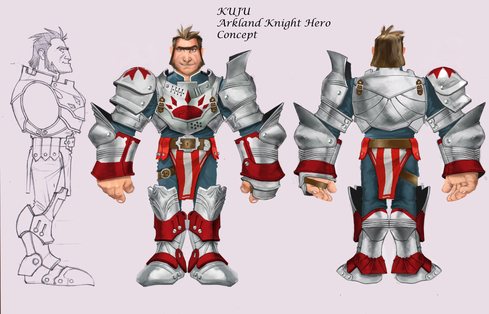 Knightwars characters for KUJU Uk