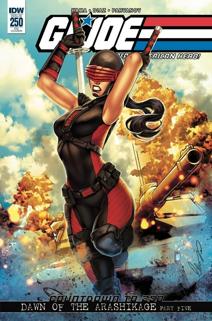 GI JOE A REAL AMERICAN HERO #250 IDW Publishing
