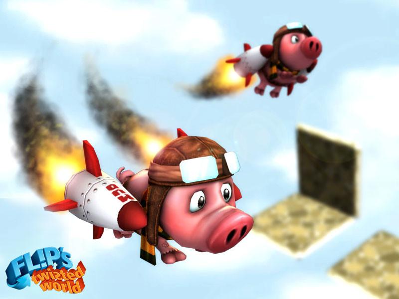 Eddie faria rocket pig oink by akasha1x d8oxkh9