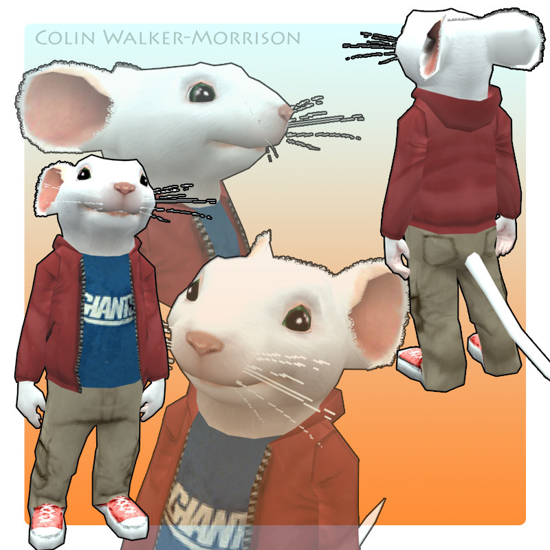 Stuart little - Playstation 2 game