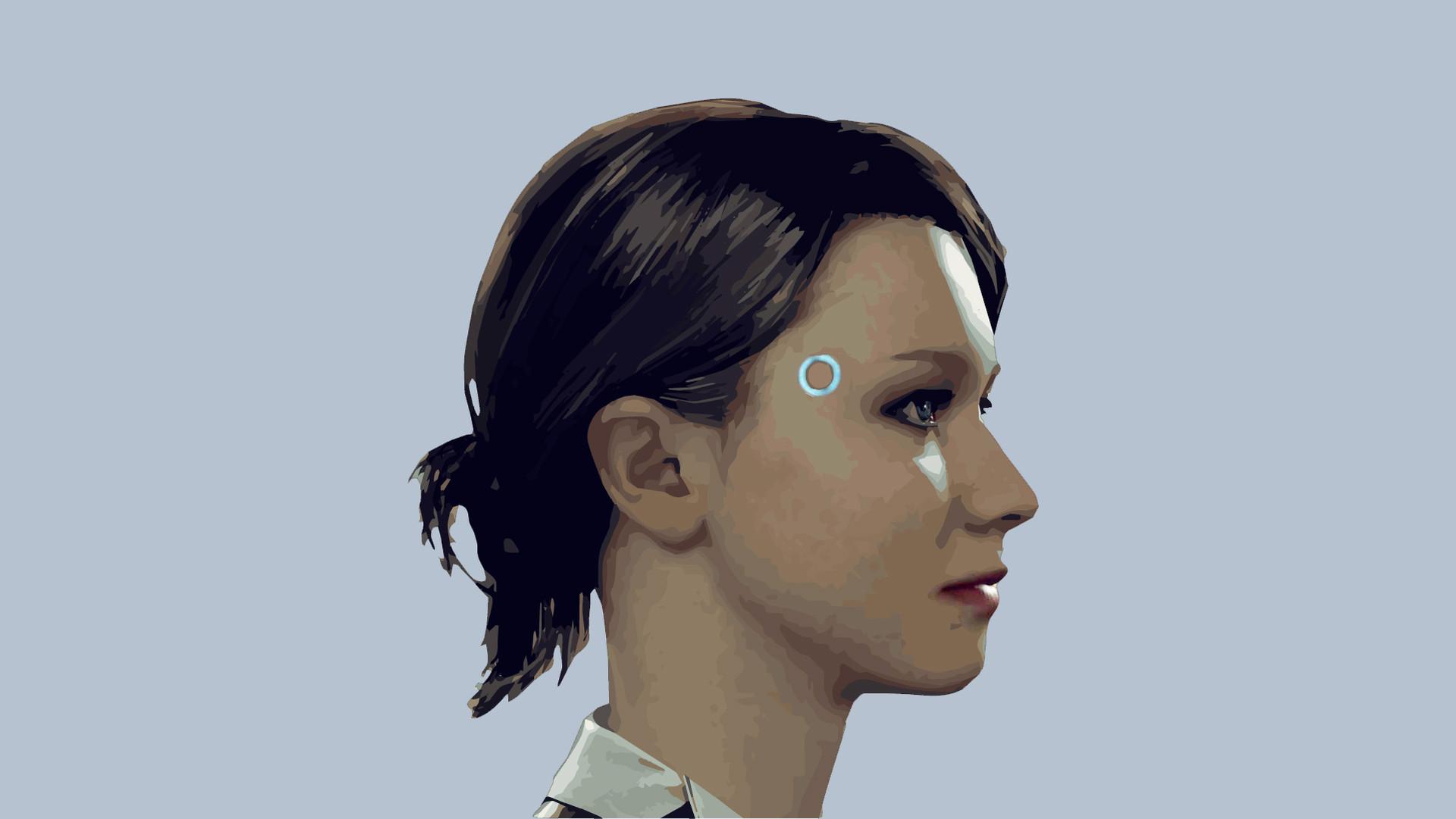 About >> ArtStation - Detroit Become Human Kara, Red Head
