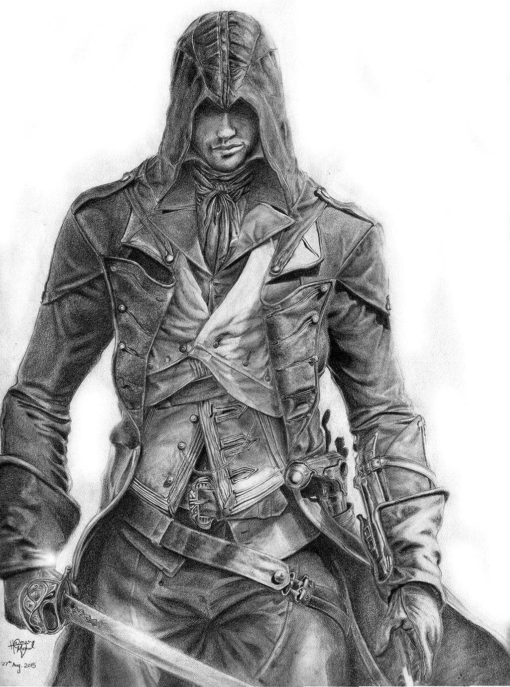 Artstation Assassin S Creed Unity Arno Dorian Hamza Masud