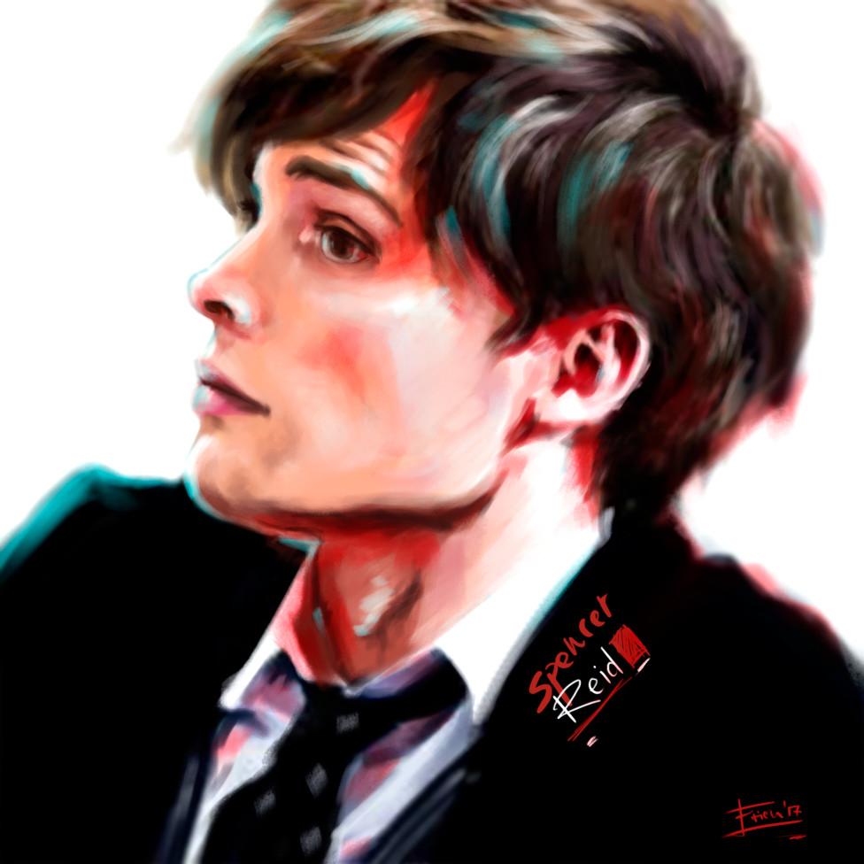 Portrait #05 // Spencer Reid