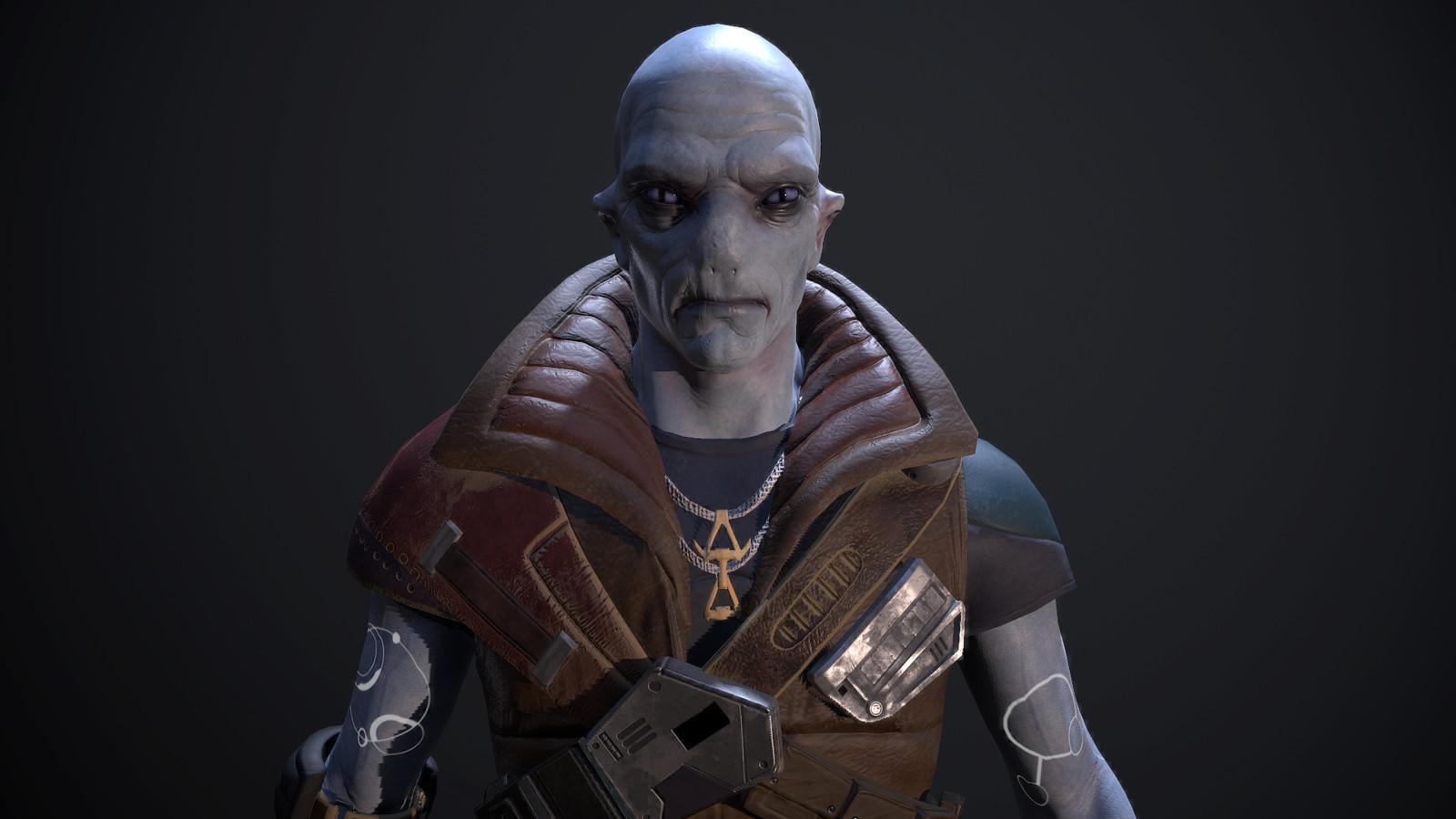 VRWORLDS Scavengers Odyssey  - Character