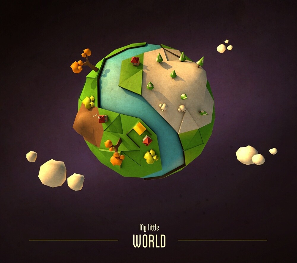 Low poly // World