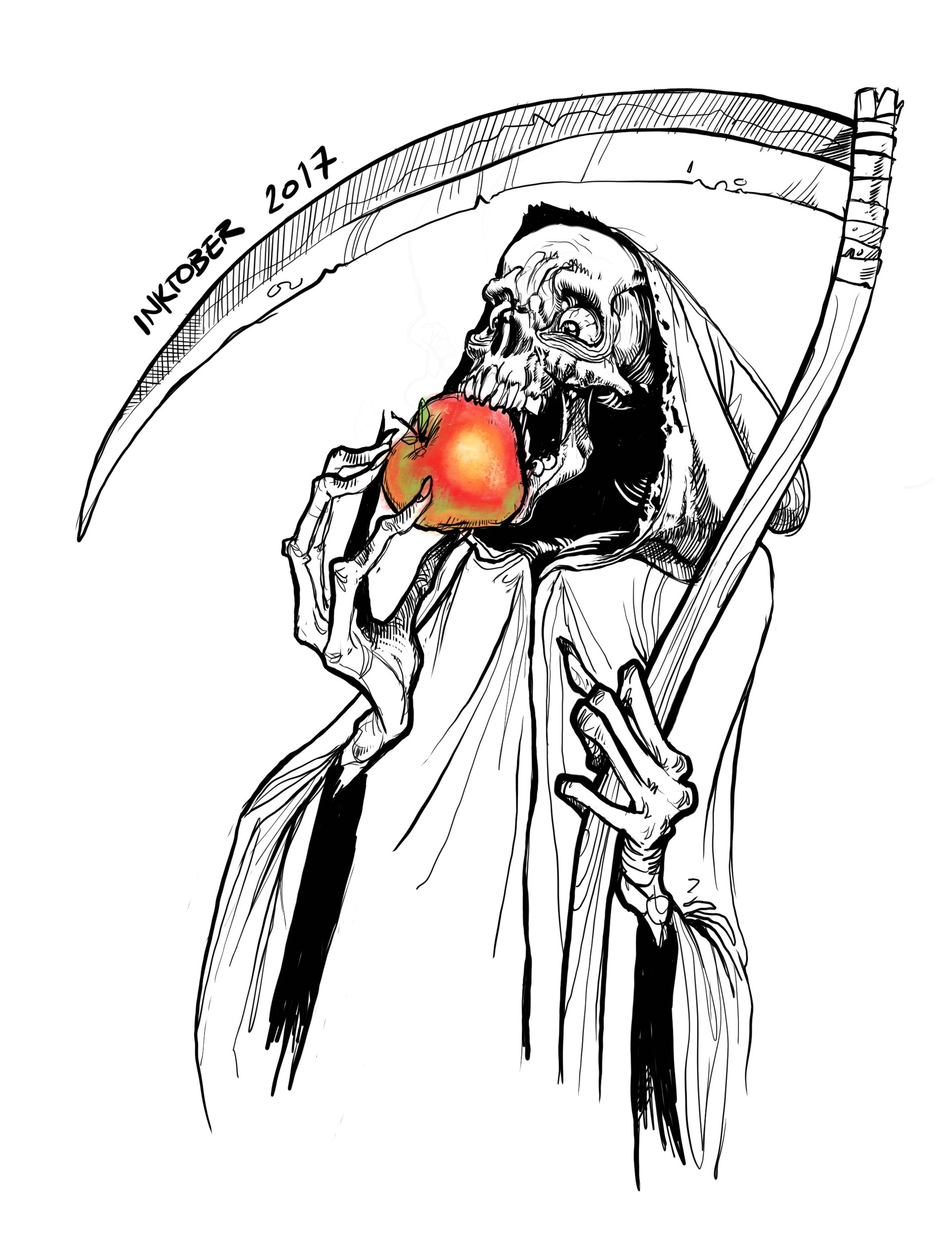 Death and the poison Apple