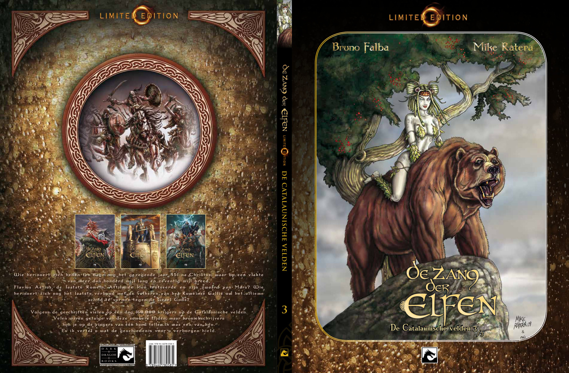 Mike ratera zang der elfen t3 limited edition cover