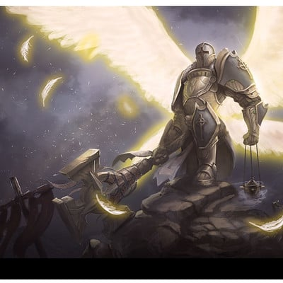 Jon wing angelsworn illustration