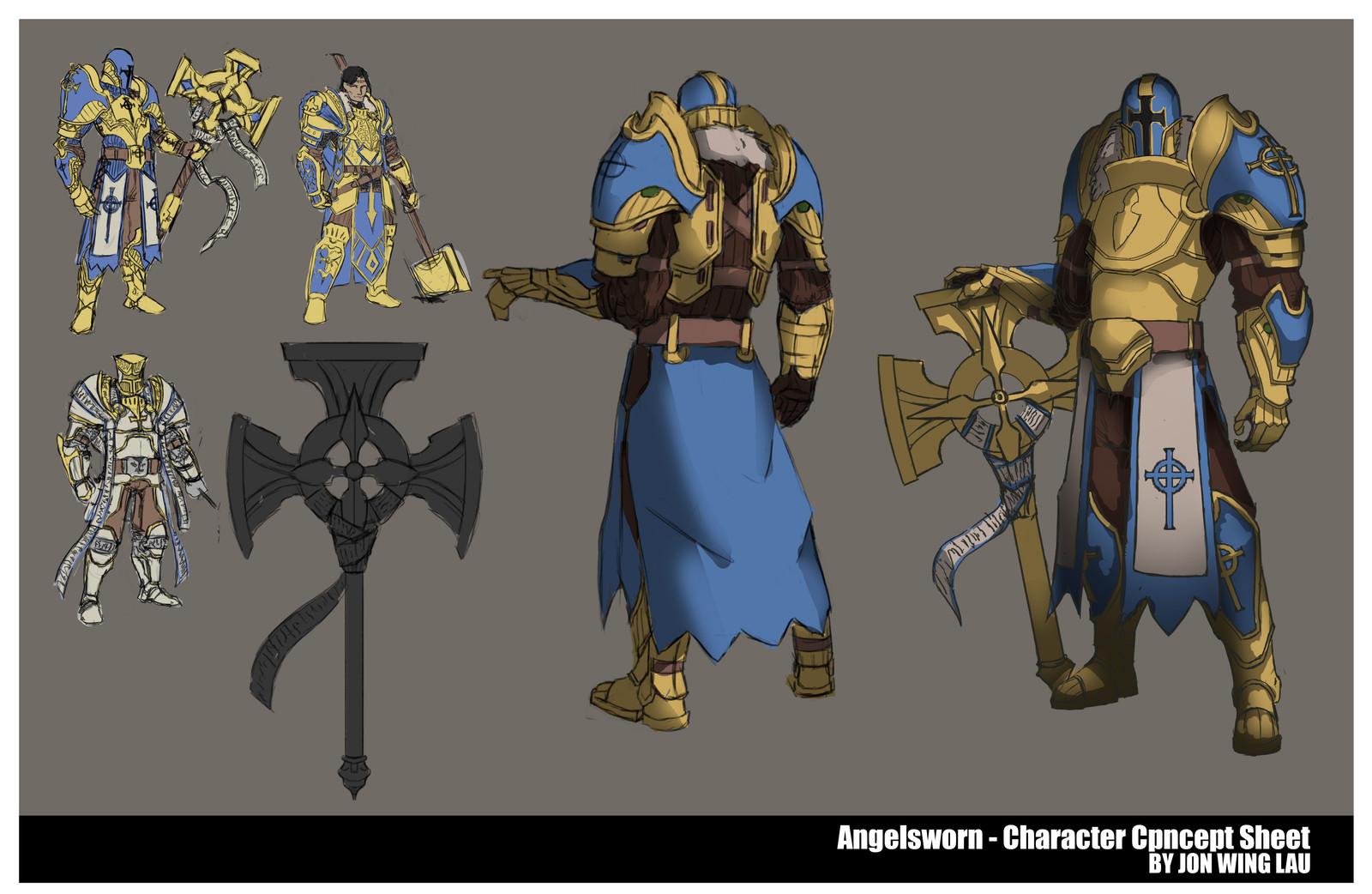 Angelsworn - Character Concept Sheet