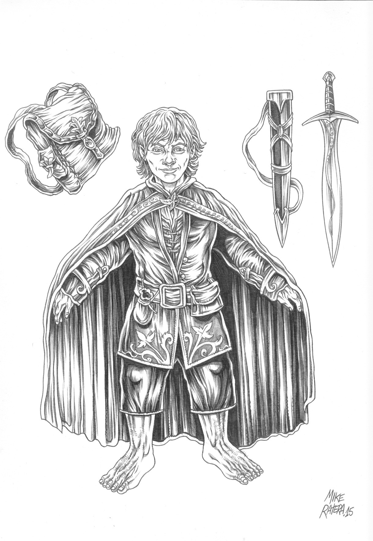 Mike ratera lotr frodo 2