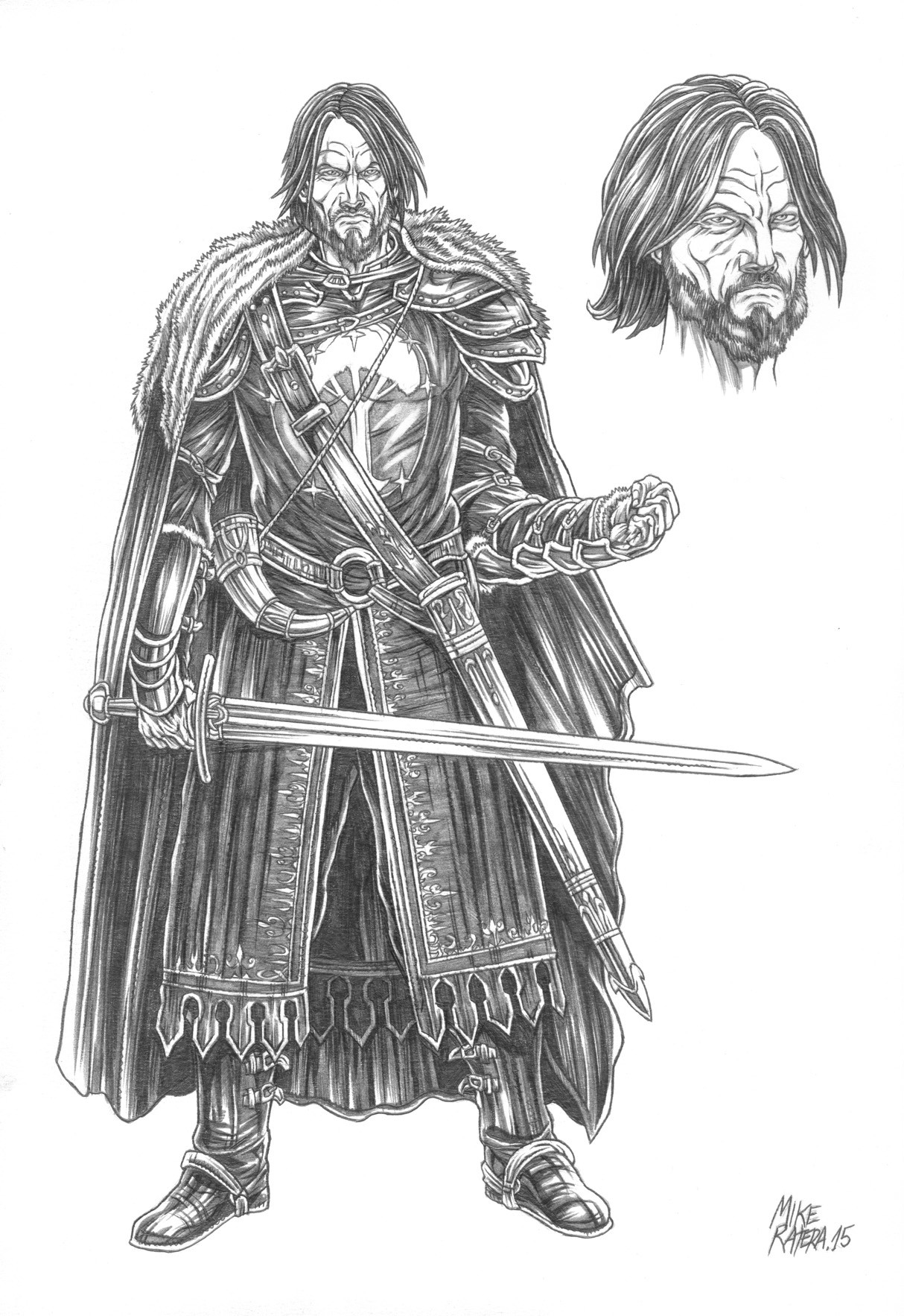 Mike ratera lotr boromir