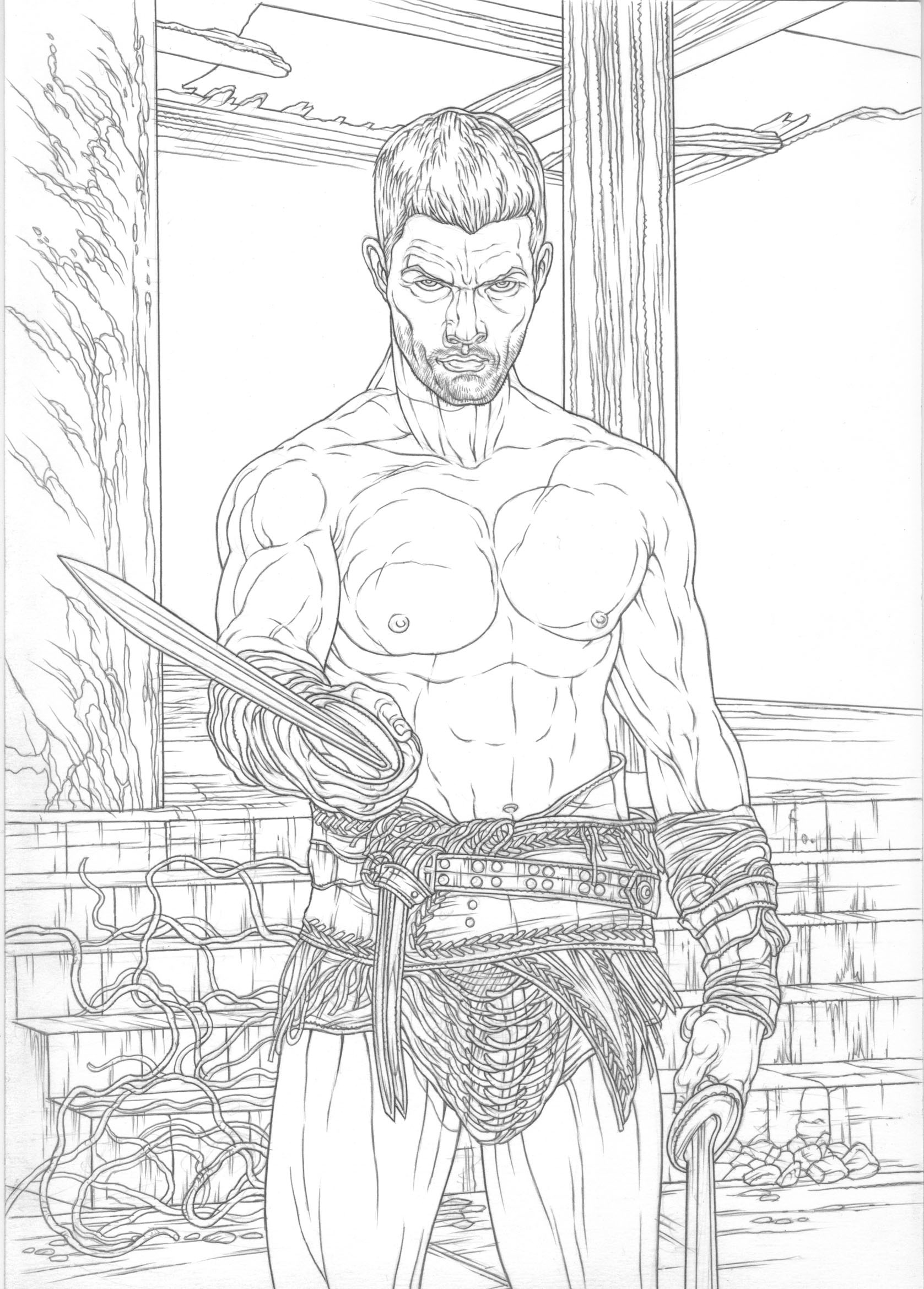 Mike ratera spartacus vengeance b w