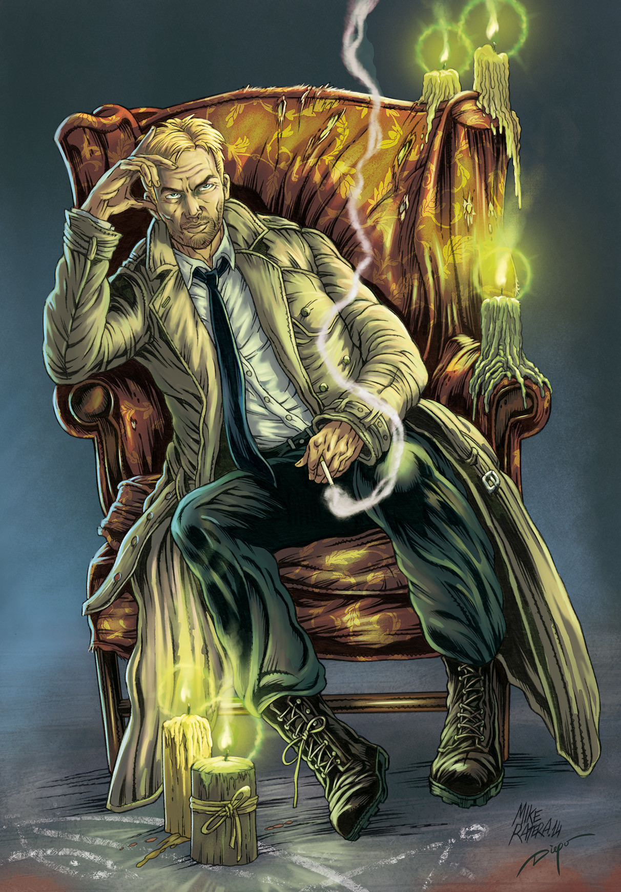 Mike ratera john constantine color