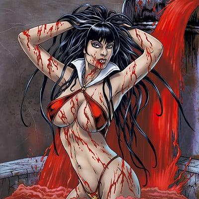 Mike ratera vampirella 1 color