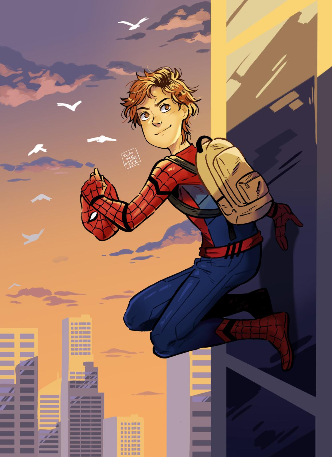 Peter Parker Redraw