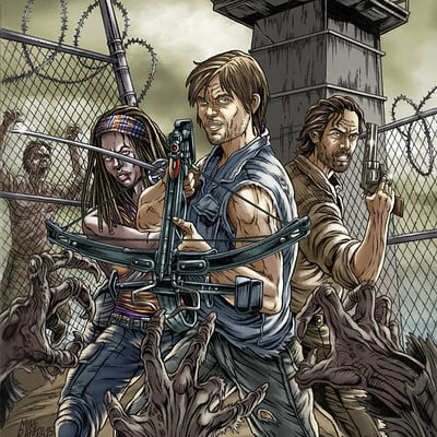 Mike ratera twd color