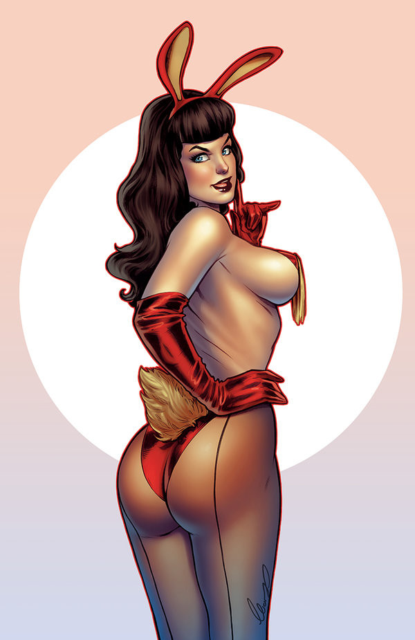 Elias chatzoudis bettie page by elias chatzoudis dc1dayr
