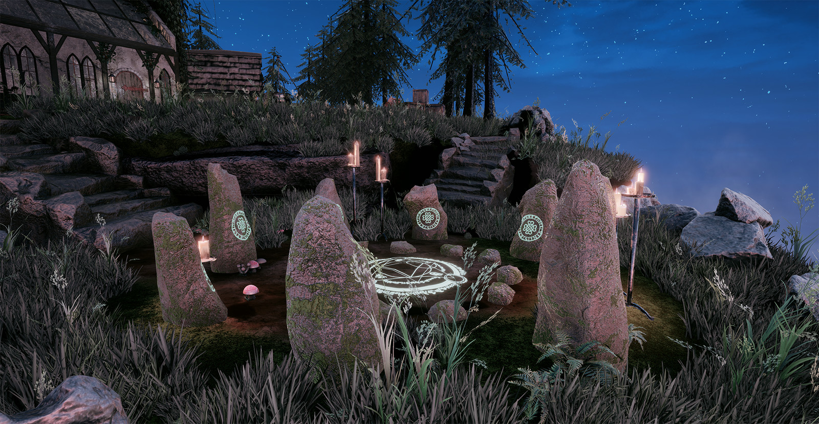 Runes Circle