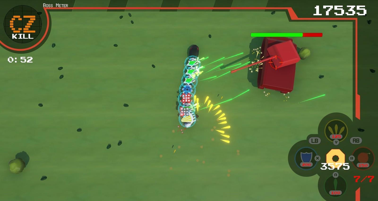 In-Game Snapshot of Mini Boss