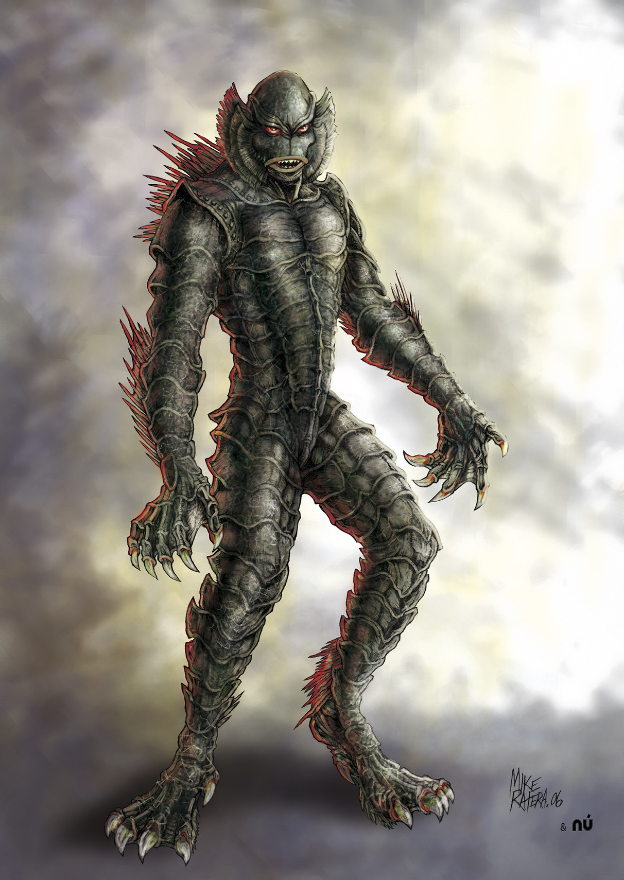 Mike ratera creature 2 color