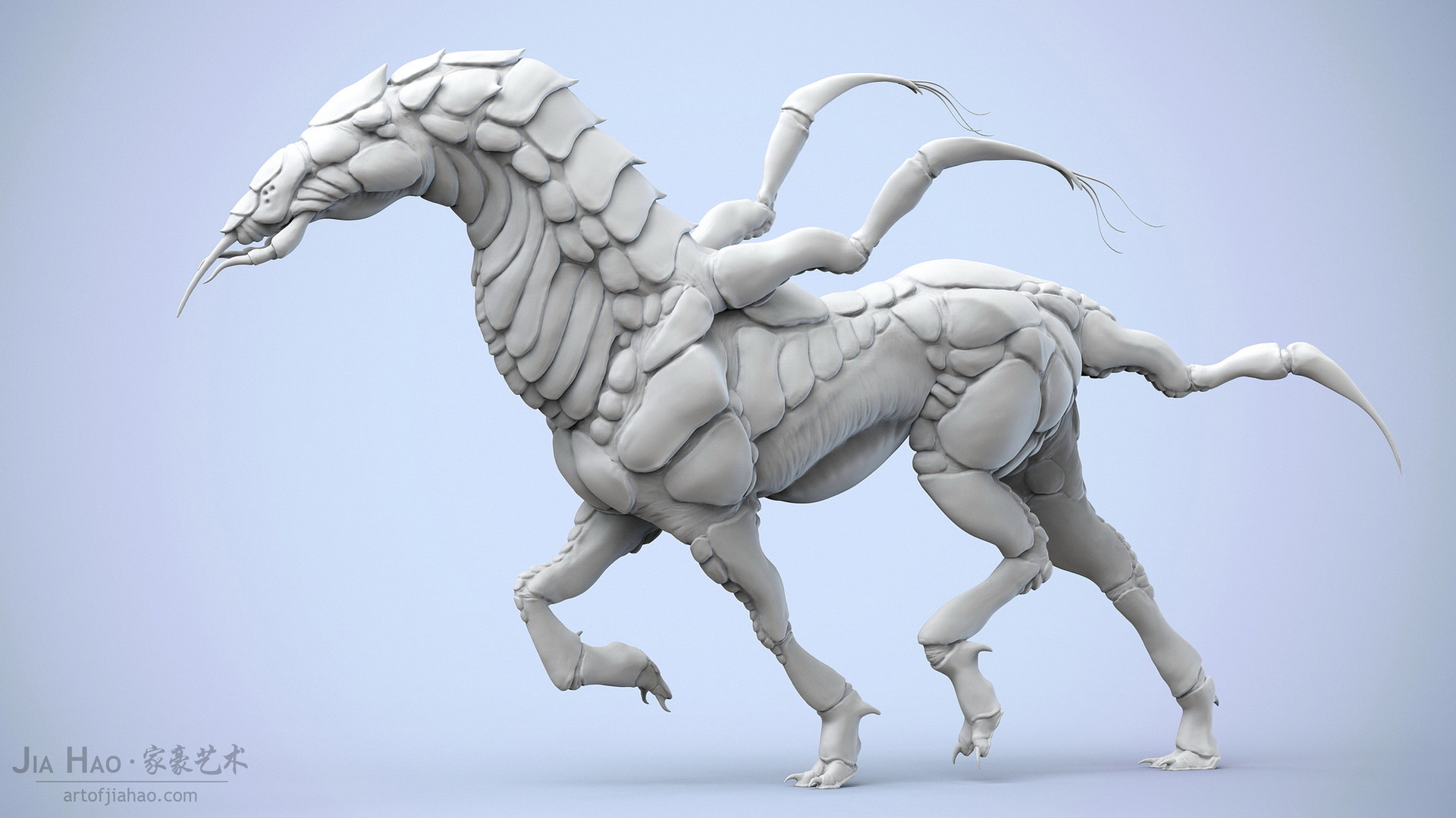 Jia hao 2018 insectoidhorse 01